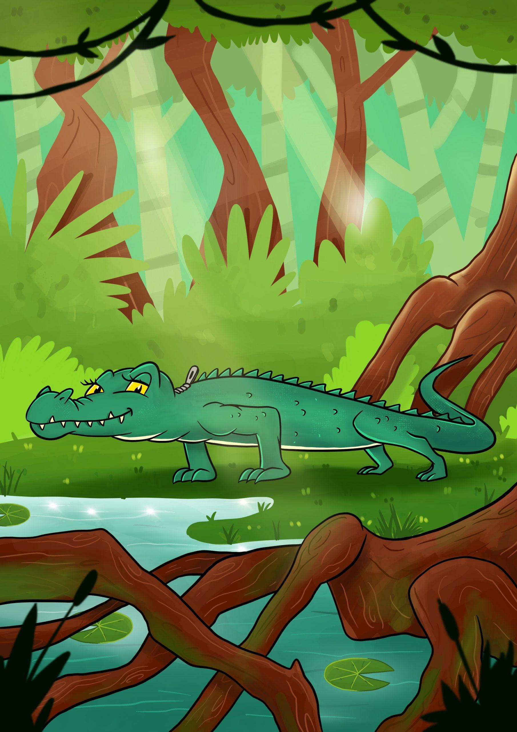 Dag 29 – Krokodillen